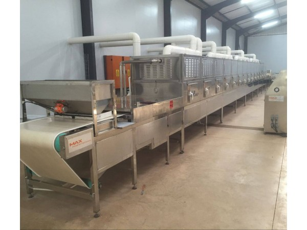 Microwave Tunnel Conveyor Machine