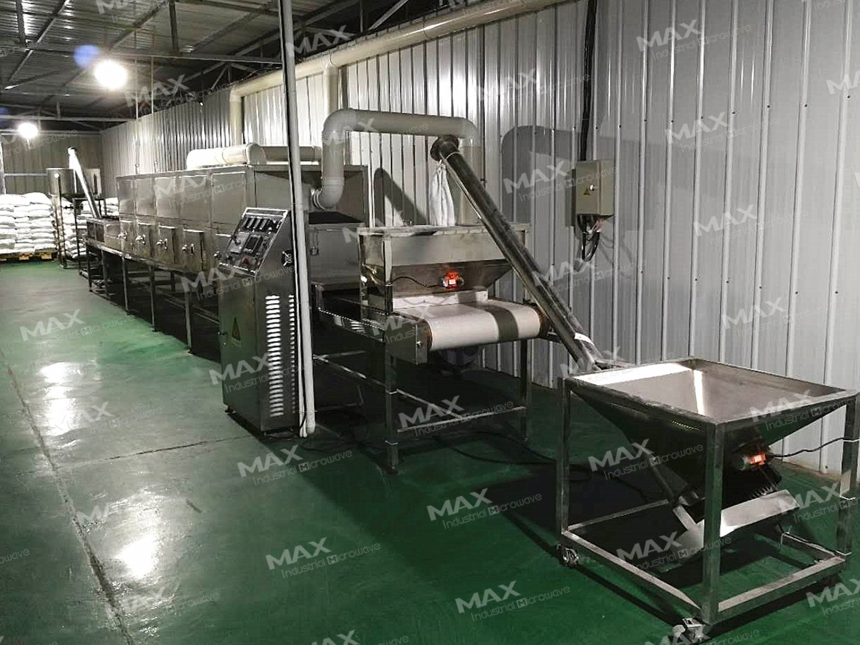 Flour Power Material Industrial Microwave Sterilization