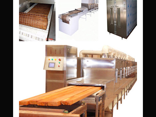 Industrial Microwave Dryer for Wood and Timber