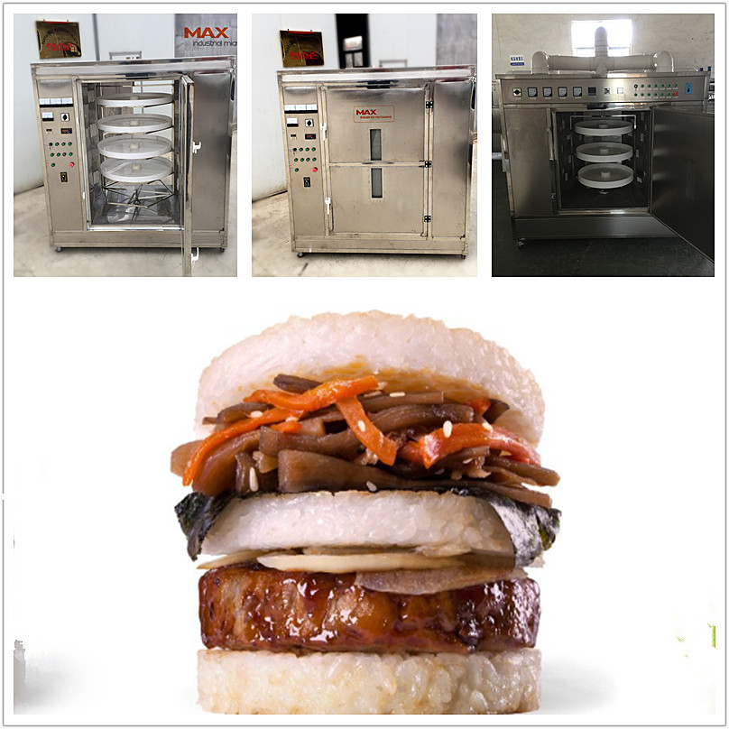 Rice Hamburger Reheating Machine
