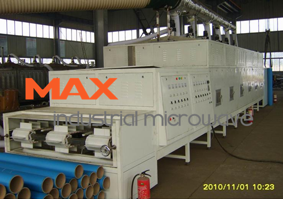 Commercial Microwave Dryer Processing Paper Tube
