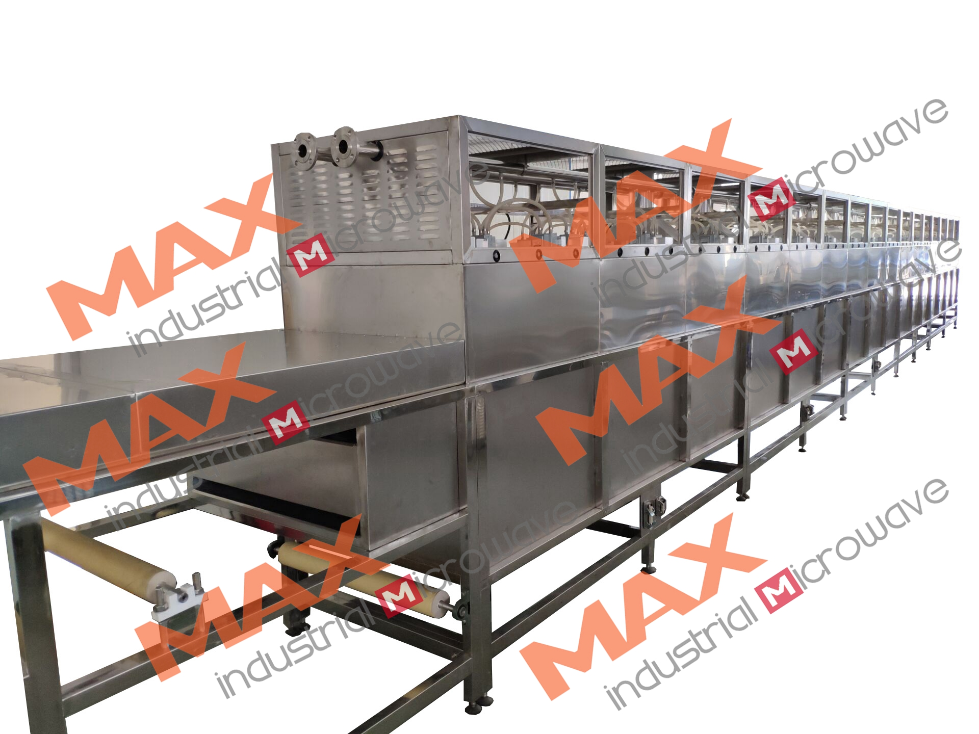 Double Layer Tunnel Microwave Machine