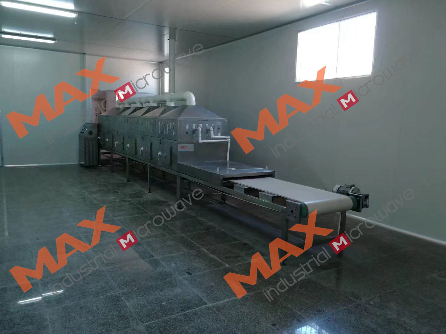 Microwave Extrusion and Drying Petroleum Drilling Fluid