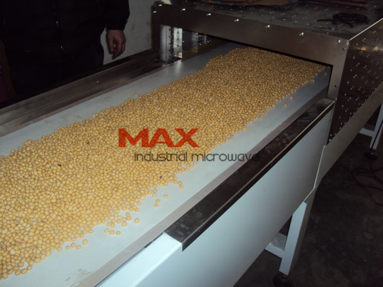 Soy Nuts Drying and Roasting Microwave Machine