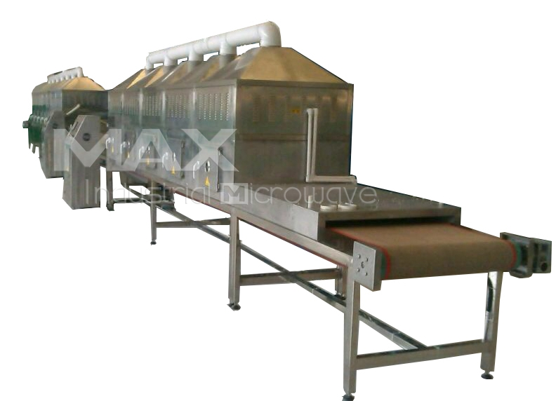 Tunnel Conveyor Microwave Heating Machine