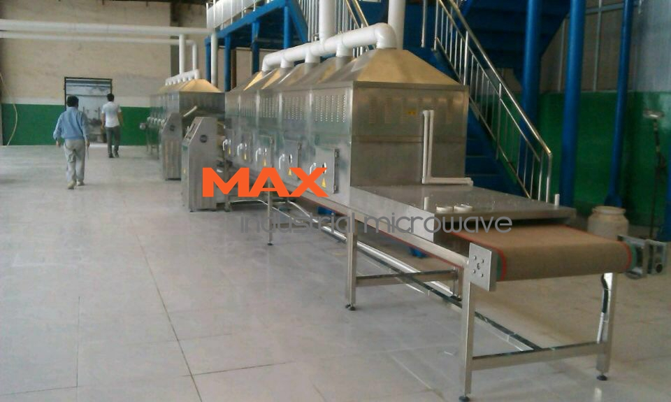 Industrial Tunnel Microwave Dry Plywood Products